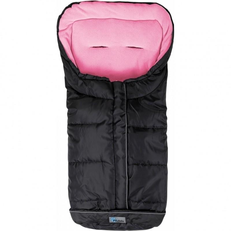Sac pentru carucior Active Line Altabebe, 90 x 45 x 5 cm, negru/roz 2021 shopu.ro