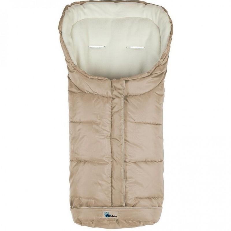 Sac de iarna pentru carucior XL Active Line Altabebe, 100 x 45 cm, 12 luni+, Bej 2021 shopu.ro