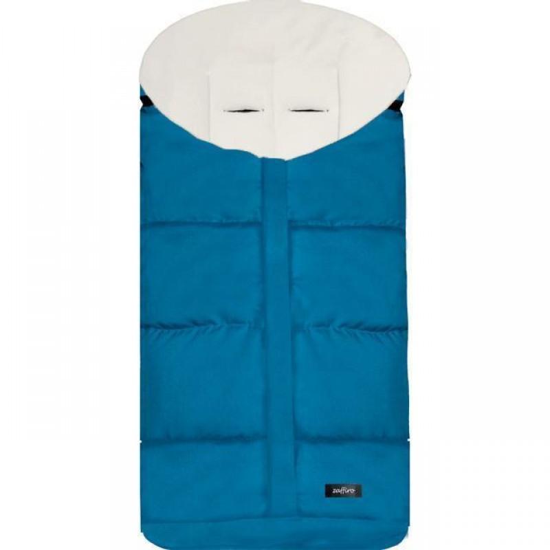 Sac de iarna Wintry N12 Womar Zaffiro, 90 x 40 cm, 0 luni+, Turcoaz 2021 shopu.ro