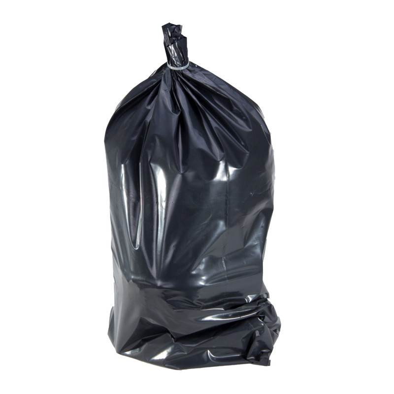 Set saci moloz Proline, 80 l, polietilena, 10 bucati, Negru 2021 shopu.ro
