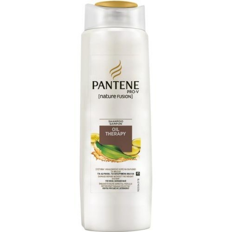 Sampon pentru par deteriorat Pantene Oil Therapy, 360 ml 2021 shopu.ro