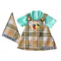 Sarafan si bluza papusi Miniland, 32 cm