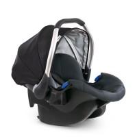 Scaun auto Comfort Fix Hauck, Isofix, maxim 13 kg, 0 luni+, Negru/Gri