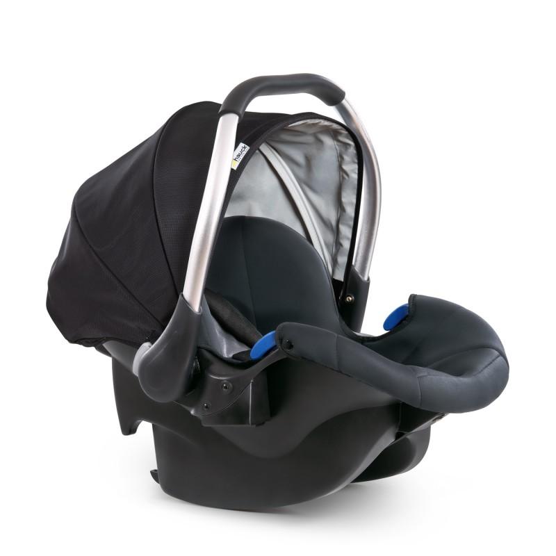 Scaun auto Comfort Fix Hauck, Isofix, maxim 13 kg, 0 luni+, Negru/Gri 2021 shopu.ro