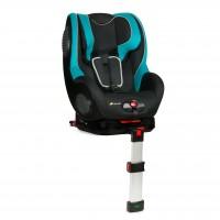 Scaun auto Guardfix 1, tetiera reglabila, prindere in 5 puncte, 3 pozitii de inclinare, Black/Aqua