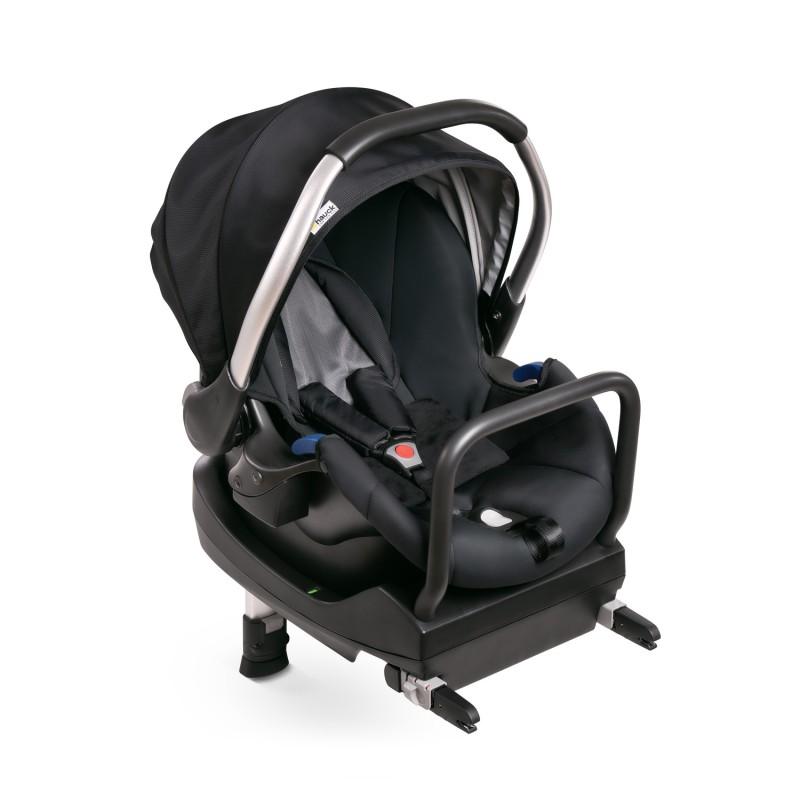 Scaun Auto Comfort Fix, suporta 13 kg, sistem isofix, baza comfort Fix inclusa, Black Grey