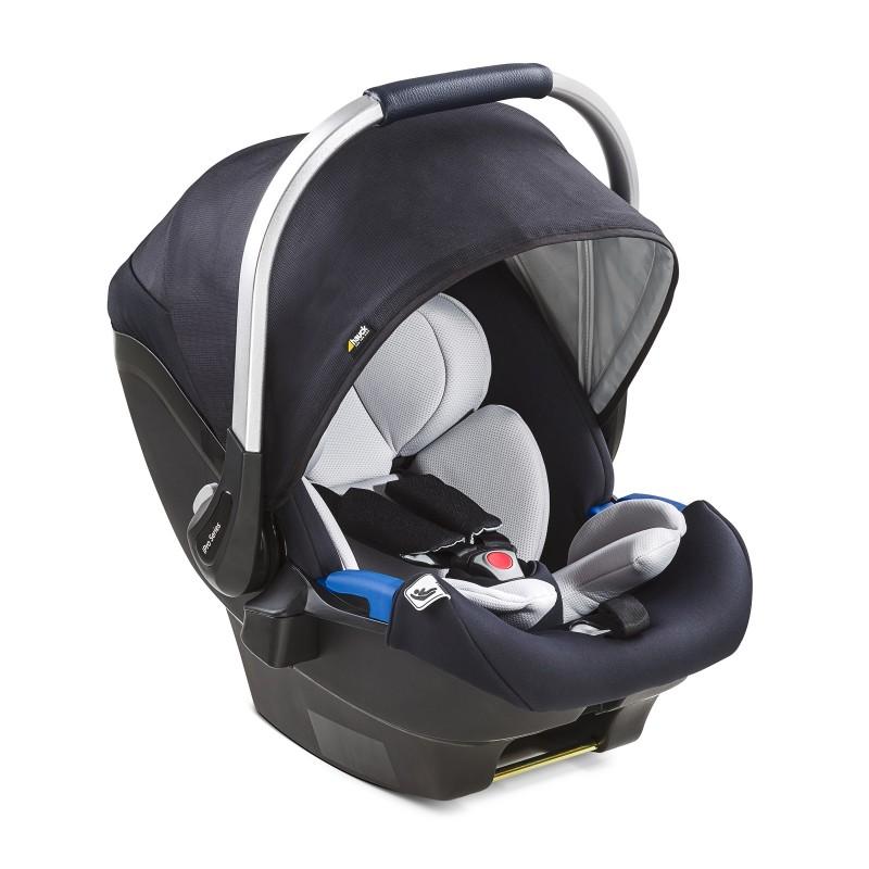 Scaun Auto iPro Baby Hauck, suporta 13 kg, sistem Isofix, Caviar