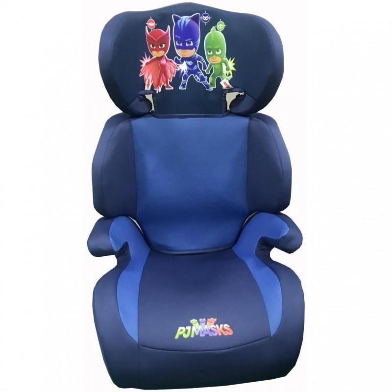 Scaun auto PJ Mask Disney Eurasia, suporta maxim 15 - 36 kg, husa detasabila, prindere in 3 puncte 2021 shopu.ro