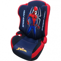 Scaun auto Spiderman Disney, 15 - 36 kg, 3 - 12 ani, tetiera ajustabila, Albastru