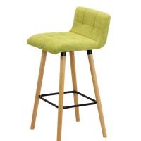 Scaun pentru bar, inaltime 93 cm, suporta maxim 100 kg, Verde