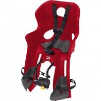 Scaun de bicicleta fata Cars 3 Disney, maxim 15 kg, inaltime reglabila, sistem Handlefix, 3 - 4 ani, Rosu