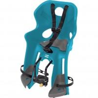 Scaun de bicicleta fata Frozen Disney, maxim 15 kg, inaltime reglabila, sistem Handlefix, 3 - 4 ani, Albastru