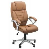 Scaun pentru birou, inaltime maxima 121 cm, suporta maxim 100 kg, Bej