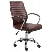 Scaun pentru birou, inaltime 108 cm, suporta maxim 100 kg, Maro