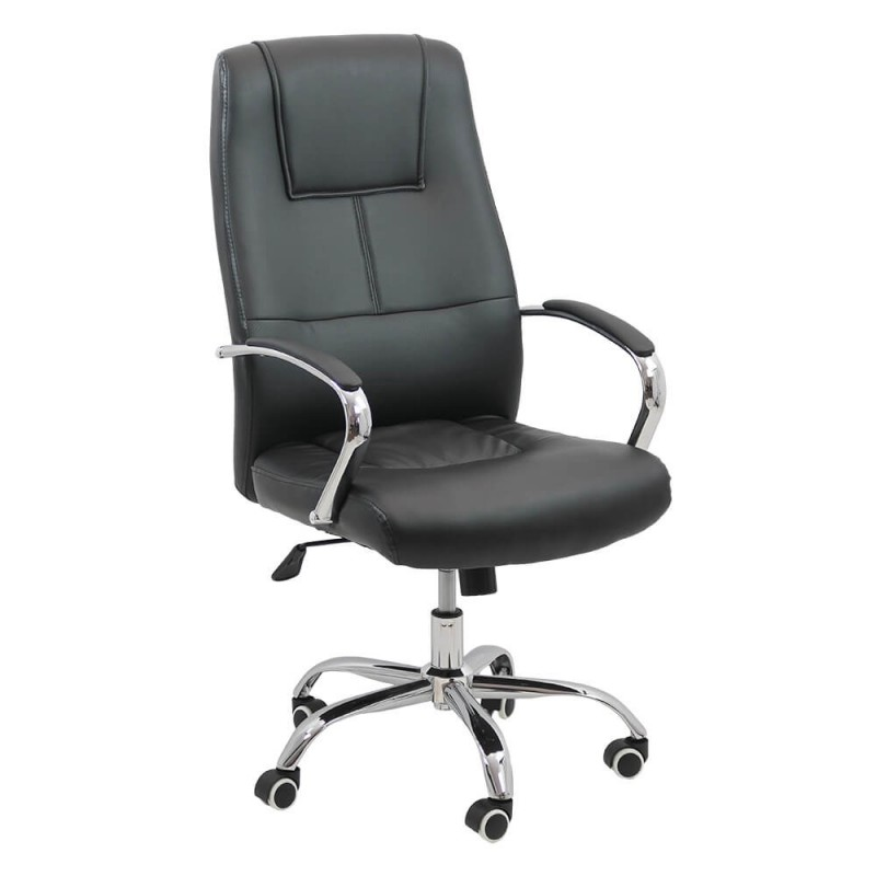 Scaun pentru birou, inaltime maxima 113 cm, suporta maxim 113 cm, Negru 2021 shopu.ro