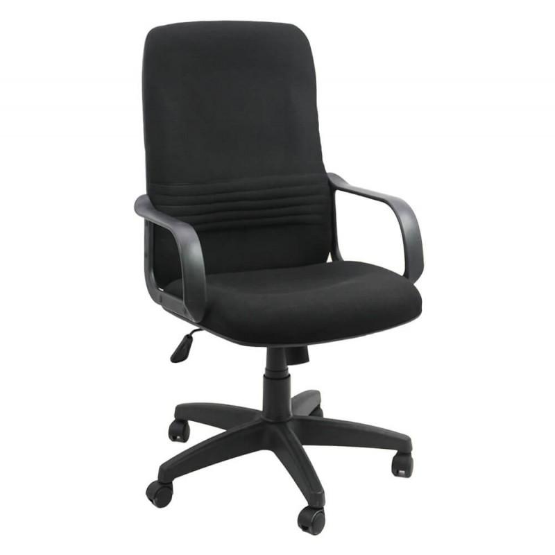 Scaun de birou, suporta maxim 100 kg, material stofa, negru shopu.ro