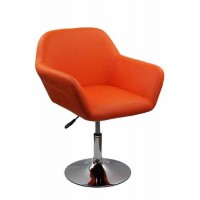 Scaun relaxare, inaltime 86 cm, suporta maxim 100 kg, portocaliu