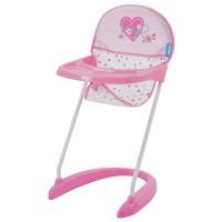 Scaun Masa Papusi Doll Hight Chair Love Heart