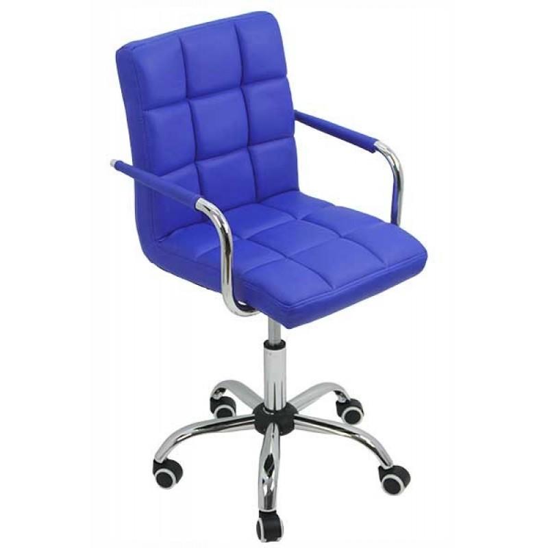 Scaun copii pentru birou, inaltime 98 cm, suporta maxim 70 kg, Albastru 2021 shopu.ro