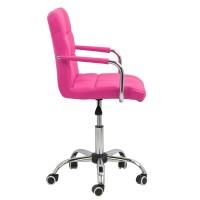 Scaun birou copii, suporta maxim 70 kg, inaltime 58 cm, roz
