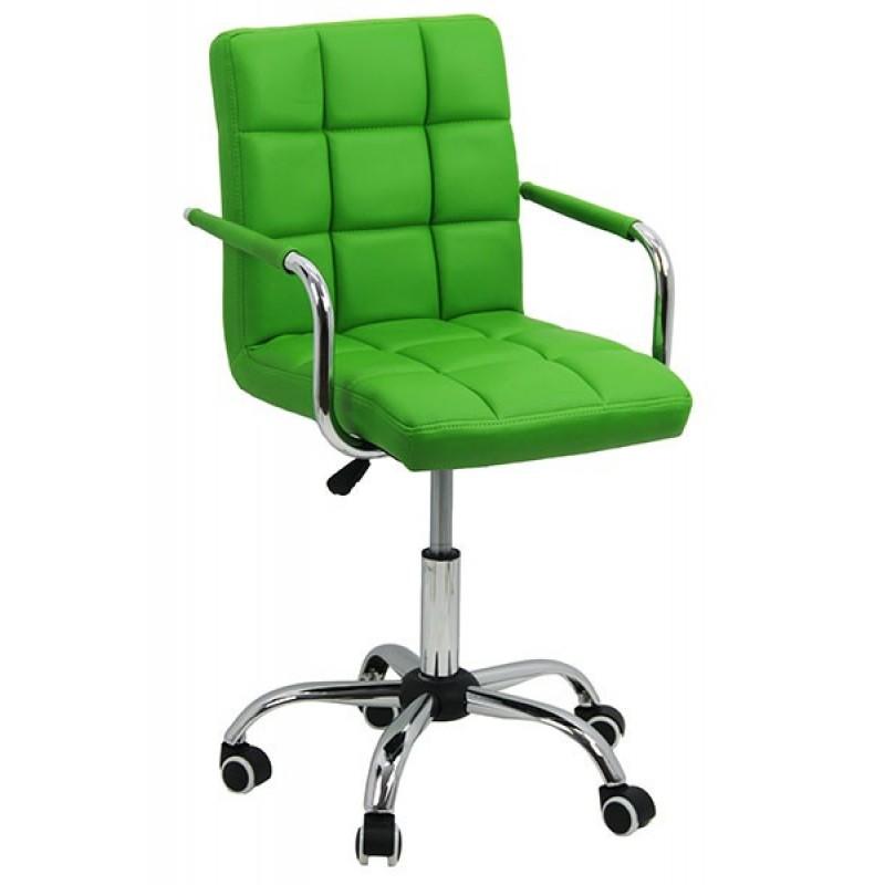 Scaun copii pentru birou, inaltime 98 cm, suporta maxim 70 kg, Verde 2021 shopu.ro