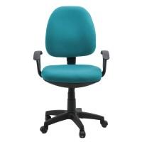 Scaun pentru birou, inaltime maxima 104 cm, suporta maxim 80 kg, Verde
