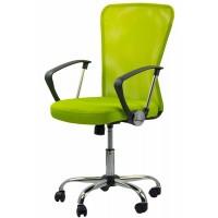Scaun pentru birou, inaltime 108 cm, suporta maxim 110 kg, Verde