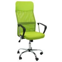 Scaun ergonomic birou, inaltime 122 cm, cadru metal, verde
