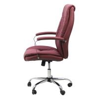 Scaun pentru birou, inaltime maxima 120 cm, suporta maxim 110 kg, Visiniu