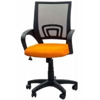 Scaun pentru birou, inaltime 97 cm, suporta maxim 90 kg, Portocaliu