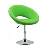 Scaun de relaxare, piele ecologica, suporta maxim 100 kg, verde