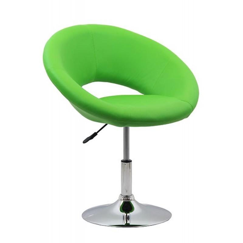 Scaun de relaxare, piele ecologica, suporta maxim 100 kg, verde 2021 shopu.ro