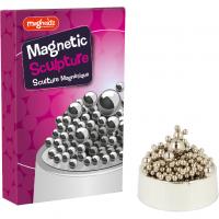 Sculptura magnetica Magnoidz Keycraft, 18 cm, 3 ani+, Argintiu