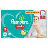 Scutece Pampers Active Baby Pants 3 Mega Box, 120 buc/pachet