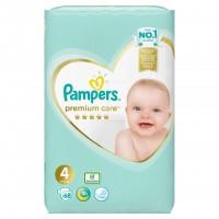 Scutece Pampers Premium Care 4 Jumbo Pack, 68 buc/pachet
