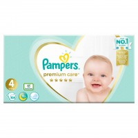 Scutece Pampers Premium Care 4 Mega Box, 104 buc/pachet