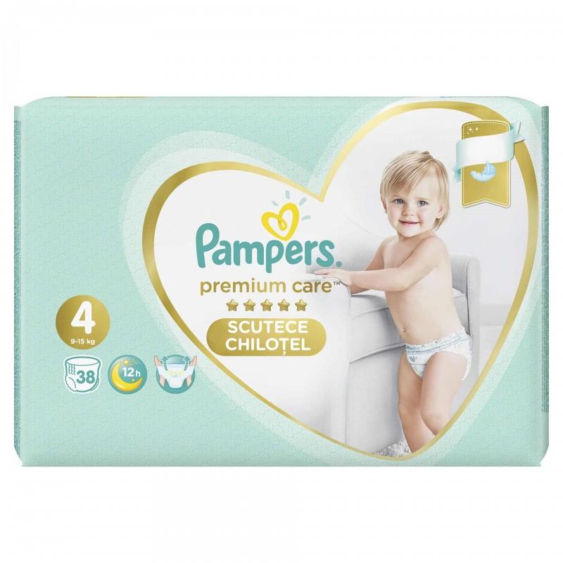 Scutece Pampers Premium Care Pants 4 Value Pack, 38 buc/pachet 2021 shopu.ro