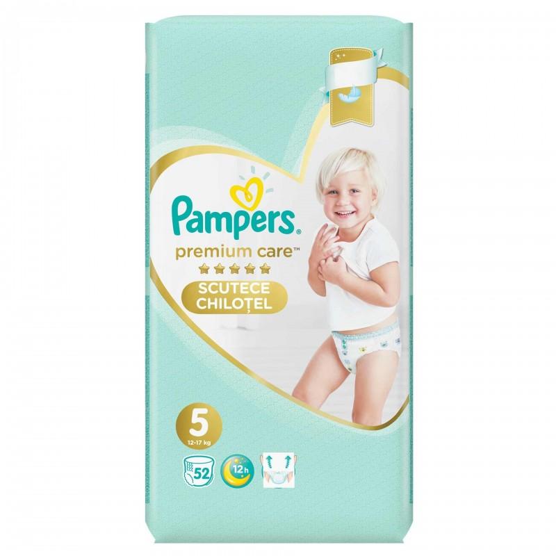 Scutece Pampers Premium Care Pants 5 Mega Box, 52 buc/pachet 2021 shopu.ro