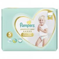 Scutece Pampers Premium Care Pants 5 Value Pack, 34 buc/pachet