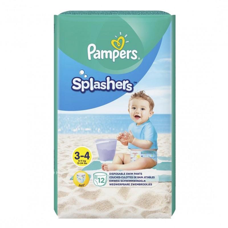 Scutece Pampers Splash 3 pentru apa, 12 buc/pachet 2021 shopu.ro