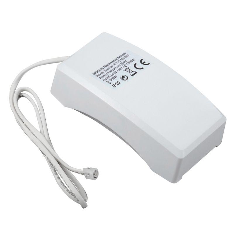 Senzor miscare crepuscular cu microunde MCE136, senzor lumina reglabil 2021 shopu.ro
