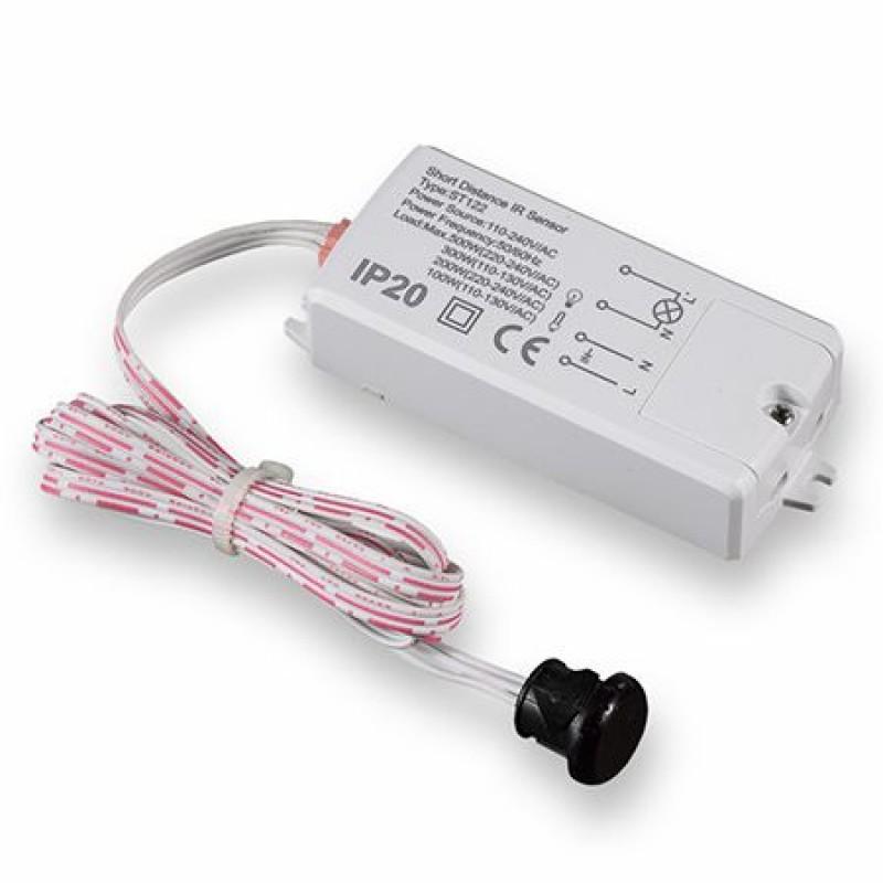 Senzor de miscare, detectare 5-6 cm, maxim 300 W, protectie IP65 2021 shopu.ro