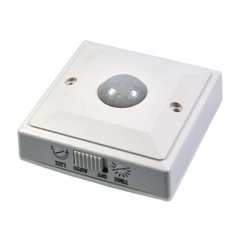 Senzor miscare pentru perete ES205, maxim 2000 W, oprire lumina automat 2021 shopu.ro