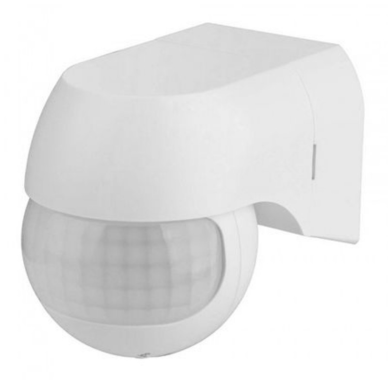 Senzor miscare cu infrarosu, 800 W, 12 m, 2000 lux, unghi reglabil
