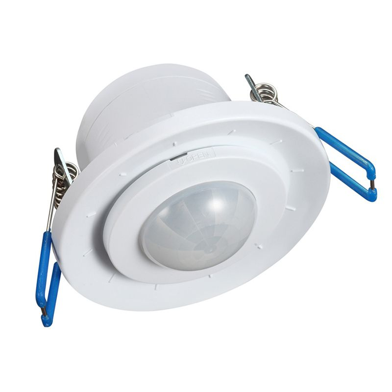 Senzor miscare incastrabil MCE 130, detector infrarosu, temporizator 2021 shopu.ro