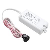 Senzor PIR pentru usa MCE135, detector infrarosu, LED roz