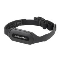 Senzor monitorizare ritm cardiac Kruger Matz, Bluetooth, rezistent la apa