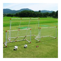 Set fotbal 2 in 1 Liveup Junior, 3 porti, 2 mingi incluse