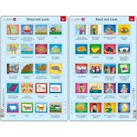 Set 10 Puzzle-uri Read and Look 21 -30 (EN), 10 piese