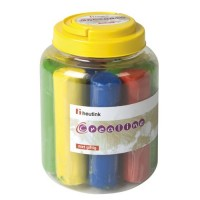 Batoane plastilina colorata Heutink, 12 bucati